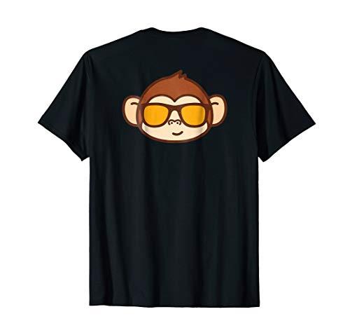 (Cool Monkey Cute Funny Kid Monkey Art Animal Print T-Shirt)