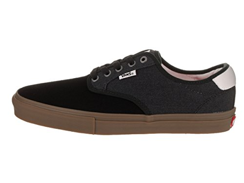 Vans Gum Authentic U Twill Mode Baskets Covert Adulte Mixte Black rprzwxF5