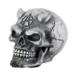 Chrome Devil Skull Shift Knob For Car by Summit