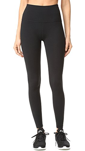 Beyond Yoga Women's High Waist Long Leggings, Jet Black, Medium