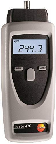 Testo 470 - Non Contact and Mechanical Tachometer (Part Number 0563 0470)