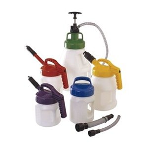 Starter Kit with Pump, Pour, Store, Label