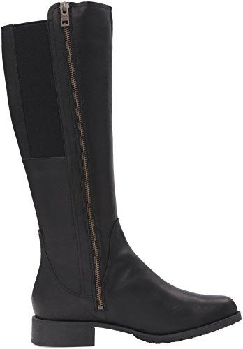 Timberland Damen Banfield Tall Wasserdichte Reitstiefel Jet Black Vierzig
