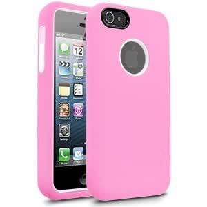 Cellairis Rapture Full Moon Case for Apple iPhone 5 - Light Pink / White