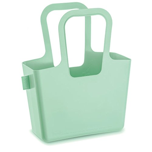 Koziol bolso Lino, plástico, 13x 32,7x 38.6cm, plástico, himbeer rot, 130x327x386 cm Verde Menta