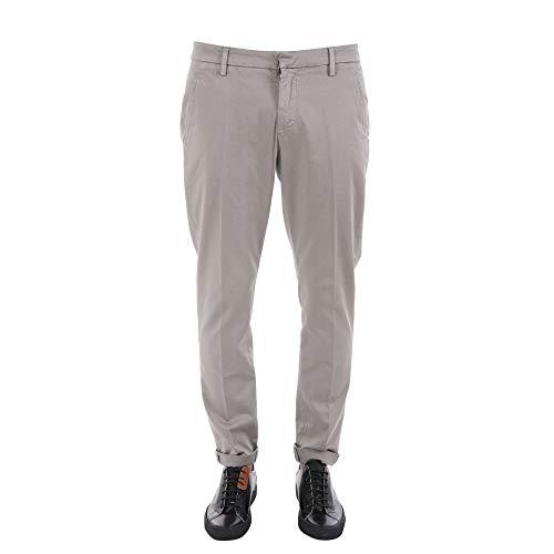 Pantalon Up235rs004u904 Homme Dondup Coton Gris q8wpU