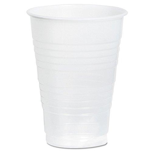 Dart Conex Galaxy Polystyrene Plastic Cold Cups, 12oz, 1000/Carton