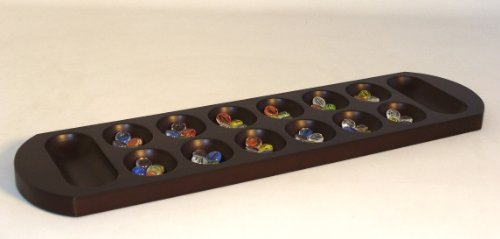 Play All Day Games Jumbo Mancala Board - Table Oak Chess