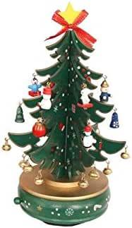 Regalo de San Valentin Árbol de Navidad de Madera Caja Musical giratoria Regalo de cumpleaños para niñas Regalo Musical (Verde) Estuche Musical (Color : Green): Amazon.es: Hogar