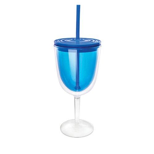 True Blue Plastic Cup - 4