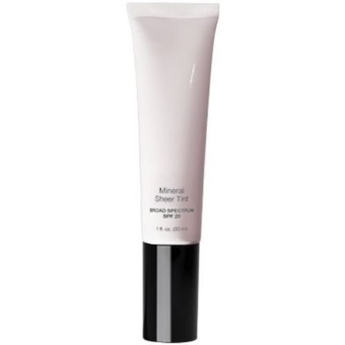 The Natural Sheer Foundation - Mineral Sheer Tint Foundation Spf 20, New Makeup Tinted Moisturizer (Natural Glow) - 1 fl oz