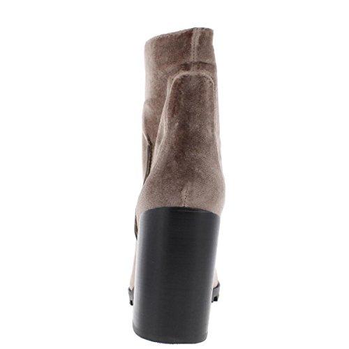 Womens Madden Boots Ambrose Natural Velvet Casual Sole Velvet Steve Lug q51xdqn