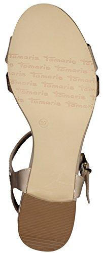 28220 Damen Shell Taupe T Tamaris Spange AP85qwxR4q