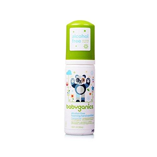 Babyganics Germinator Hand Sanitizer, Fragrance-Free (1.69 Ounce Bottle, Travel Size)