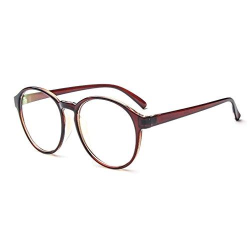 LOMOL Fashion Korean Design Retro Student Style Transparent Lens Frame Glasses For - Trend Sunglasses Korean