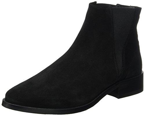 Delle Prime nero Donne Stivali Di Colore Chelsea Chelsea Reale Camoscio Republiq Oa7YqY