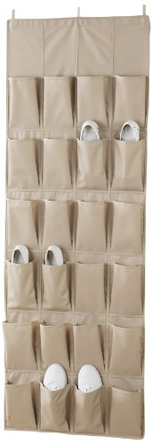 neatfreak 5660-ST 24 Pocket Over The Door Organizer (Marketplace Tree Shoe)
