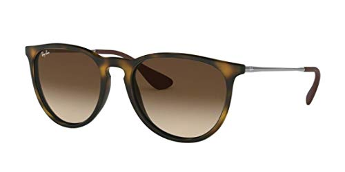 Ray-Ban RB4171 865/13 Erica Sunglasses Tortoise Frame / Brown Gradient Lens (Ray-ban Erika Klassische Sonnenbrille)