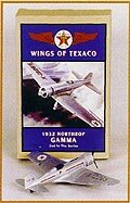 Texaco - Wings Of Texaco #2 1932 Northrop Gamma Airplane bank (1:43); -