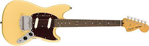 Squier by Fender Classic Vibe 60's Mustang Electric Guitar - Laurel - Vintage - Laurel Vintage