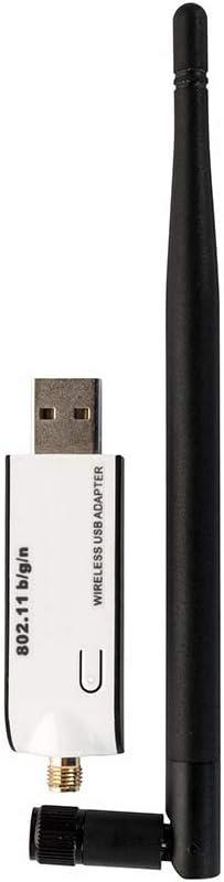 Adaptador WiFi USB para Nintendo Wii NDS PSP PS3 - Conexión LAN inalámbrica