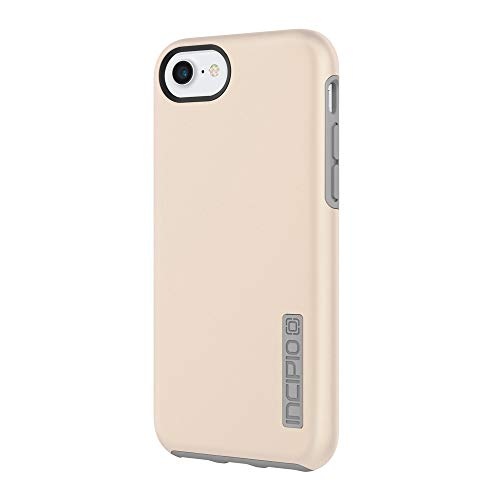 Incipio DualPro iPhone 8 & iPhone 7/6/6s Case with Shock-Absorbing Inner Core & Protective Outer Shell for iPhone 8 & iPhone 7/6/6s - Iridescent Champagne/Gray (Iphone 5s Case Flight)
