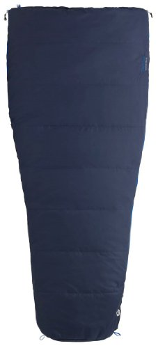 Marmot Mavericks 20 Semi Rec Synthetic Sleeping Bag, Regular-Left, Blue, Outdoor Stuffs