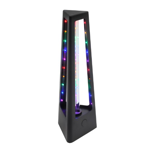 Table Lumisource Plastic (LumiSource LS-ROTOPRISM BK Rotoprism Party Light, Black)