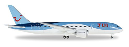 Herpa 528894 - Tui Airlines Boeing 787 Dreamliner Model Aircraft