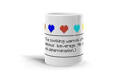 Smoothing Drink Fills With Determination 11 Oz Coffee Mug-A2HFBVXK7V0FMC