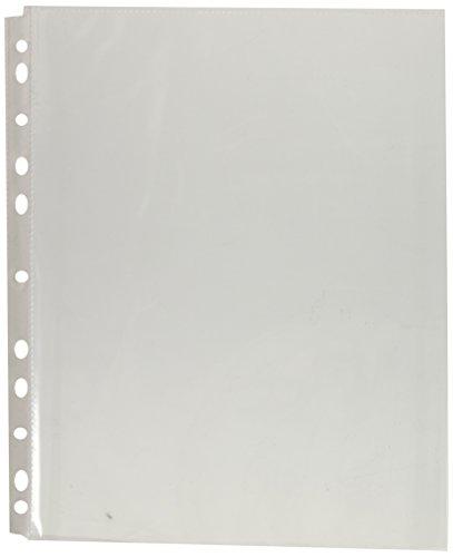 Samsill WS-50-CBX/100 Protector de Hojas, Tamaño Carta, color Cristal