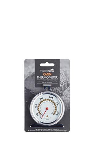 KitchenCraft MasterClass Termometro da Forno 50-300 Gradi Celsius, Acciao Inox, Argento 3