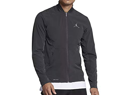 Nike Air Jordan Ultimate Flight Basketball Jacket Grey 861500 060 (XL)