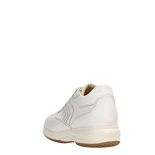 Geox D1162A04311 Sneakers Donna Pelle White White