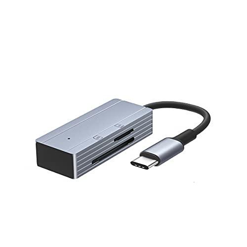 USB C SD TF lector de tarjetas