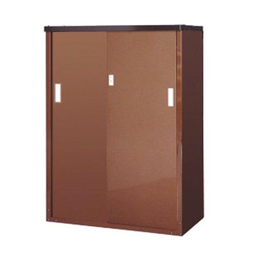 ガーデン収納庫120 ハーフ棚板仕様 スチール製 B000WGCZ2S 21000