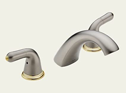 Delta Faucets 2730-NPLHP Double Handle Roman Tub - - Amazon.com