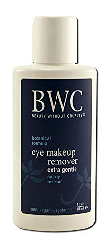 Beauty Without Cruelty Eye Make-up Remover, 4-fl Ounce, Pack of 4