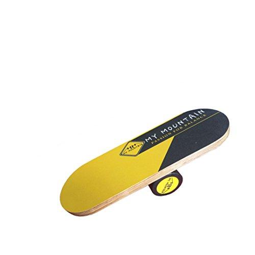 Avinka Balance Board Trainer Balance trainer of wooden balance board in skiing and balance training in park by Avinka