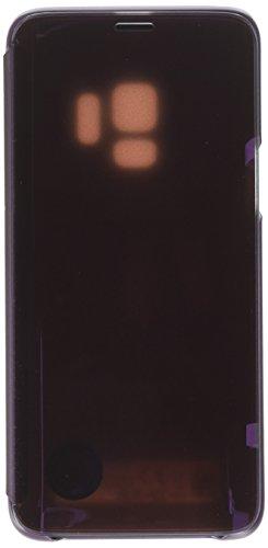 Samsung EF-ZG960CVEGUS Galaxy S9 S-View Flip Case with Kickstand, Violet