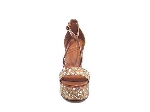 Sandales Cuir Marron Femme What Pour For 0wSaqS