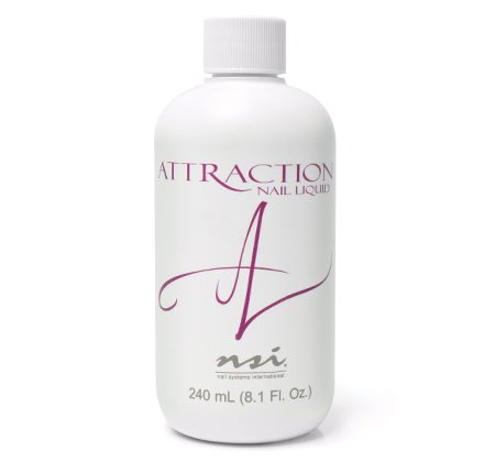 (NSI Attraction Nail Acrylic Liquid 8.1 Floz)