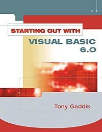 Download Starting Out With Visual Basic 6 Gaddis Series Book Pdf