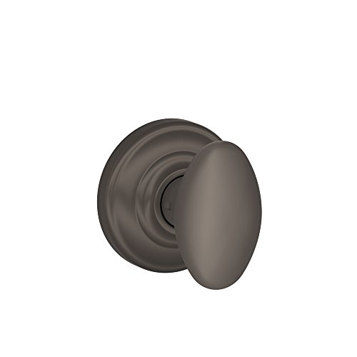 Schlage Siena Passage Knob, Andover Rose, Oil Rubbed Bronze - FA10DNB613/F10SIE613AND