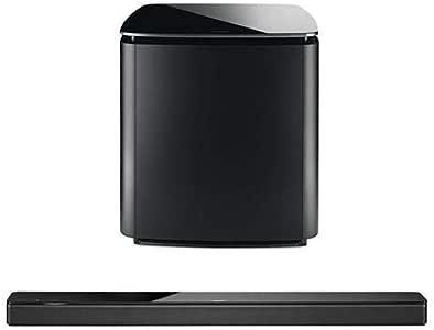 Bose Soundbar 700, Black - Bundle Bass Module 700 for Soundbar 700, Black
