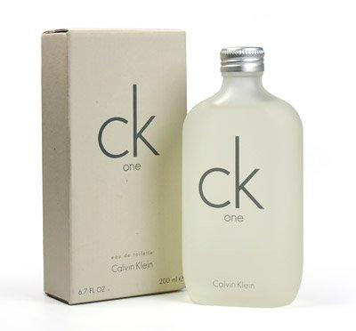 C K One EDT Spray Eau De Toilette perfume for unisex 6.7 fl oz / 200 ml ()