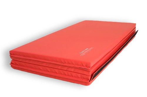 """Bonded Foam Gymnastics Mat 4' x 8' x 2"""" RED"""