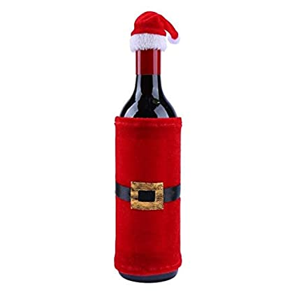 Wine Christmas Packaging.Amazon Com Wine Bottle Covers Red Wine Bottle Cover Bags