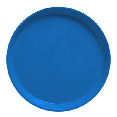 - Serving Camtray, Round, 11'' Diameter, Fiberglass, Aluminum Reinforced Rim, Amazon Blue, Nsf (12 Pieces/Unit)