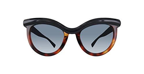 Max Mara Women's Mm Grace Rectangular Sunglasses, BLPTRRDHV, 51 ()
